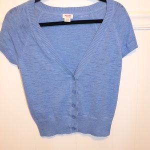Mossimo Supply Co. Sweaters - Mossimo short sleeve cardigan size XS